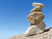 天空石头 免版税图库摄影