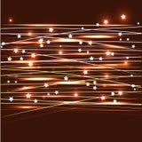 天空线星 向量例证