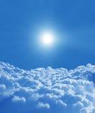 天空背景 免版税库存图片