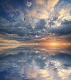 天空自然背景 库存图片