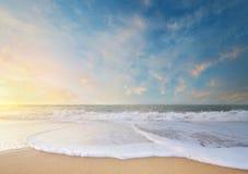 天空自然背景 免版税图库摄影