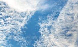 天空视图 免版税库存图片