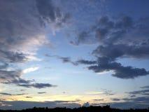 天空视图 库存图片
