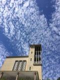天空谈 库存图片