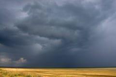 天空风暴 免版税库存照片