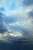 天空风暴 库存图片
