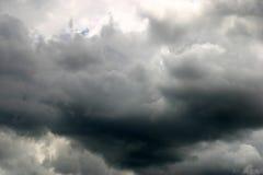 天空风雨如磐的夏天 免版税图库摄影