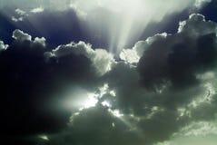 天空风暴 免版税图库摄影