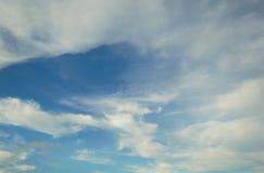 天空&云彩在泰国 免版税库存图片