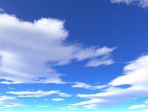 天空 向量例证