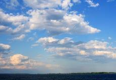 天空& x28; 1& x29; 图库摄影