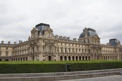 天窗、世界的最大的博物馆和一座历史的纪念碑在巴黎 免版税库存照片
