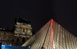 天窗博物馆在晚上 免版税图库摄影