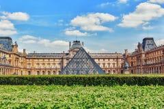 天窗博物馆在巴黎 天窗是wor的最大的博物馆 免版税图库摄影