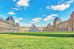 天窗博物馆在巴黎 天窗是wor的最大的博物馆 图库摄影