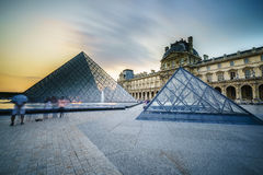 天窗博物馆在巴黎,法国 图库摄影