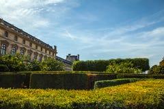 天窗大厦在巴黎,法国 库存照片