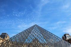 天窗大厦在巴黎,法国 免版税图库摄影