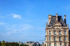 天窗大厦在巴黎,法国 库存图片