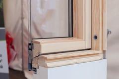 天窗或屋顶窗口外形特写镜头 图库摄影
