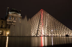 天窗的金字塔 免版税图库摄影