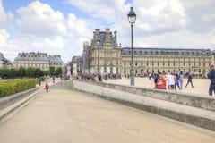 巴黎 天窗美术画廊 免版税库存图片