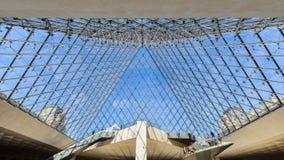 天窗金字塔的内部 免版税库存图片