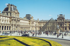 天窗-巴黎法国市步行旅行射击 库存照片