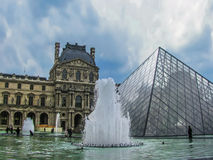 天窗-巴黎,法国 免版税库存照片