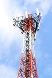 天线帆柱移动电话 免版税库存照片