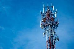 天线无线电铁塔 库存图片
