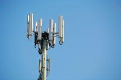 天线移动电话塔 免版税图库摄影