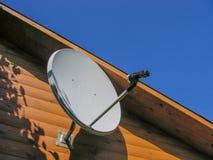 天线蓝色卫星天空 库存图片
