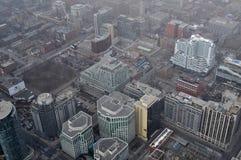 天线街市多伦多视图 库存照片