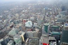 天线街市多伦多视图 免版税库存照片