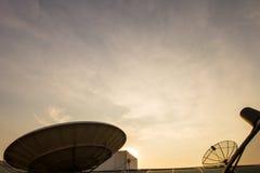 天线,卫星 免版税图库摄影