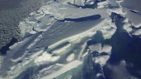 天线:贝加尔湖的冰小丘 股票录像