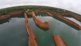 天线:Hangdong大峡谷在清迈,泰国 股票录像