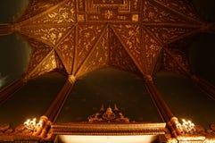 天花板在皇家教堂里 库存照片