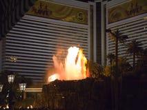 天花板在赌博娱乐场在拉斯维加斯在内华达美国 免版税图库摄影
