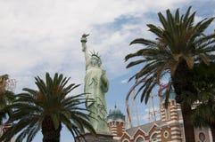 天花板在赌博娱乐场在拉斯维加斯在内华达美国 库存图片