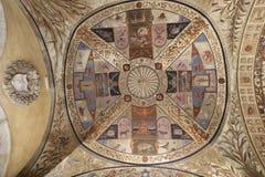 天花板壁画 库存图片