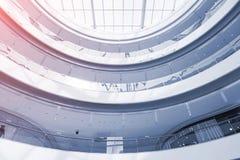 天花板抽象看法  免版税库存照片