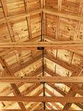 天花板椽木 库存图片