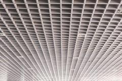 天花板现代大厦的屋顶结构 图库摄影