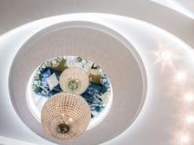 天花板设计 图库摄影
