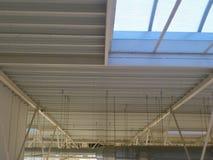 天花板建筑 免版税库存照片