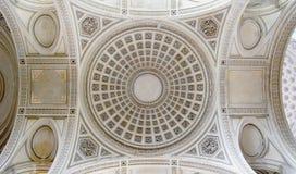 天花板细节在万神殿的 库存图片