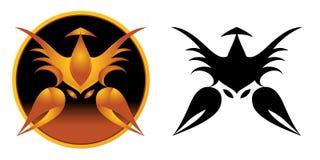 天蝎座符号黄道带 库存图片