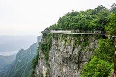 天门山张家界,中国 免版税图库摄影